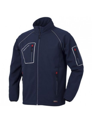 Giacca JUST 04515N Blu in softshell