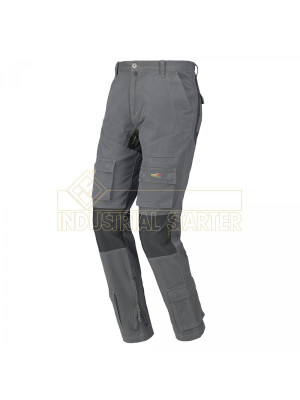 Pantalone STRETCH-ON grigio Issa 8738