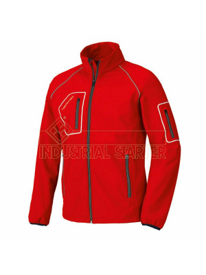 Giacca JUST 04515N Rosso in softshell