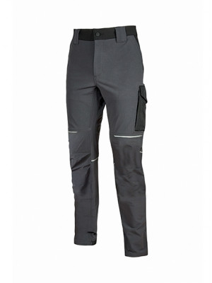 Pantalone WORLD U-Power Asphalt Grey