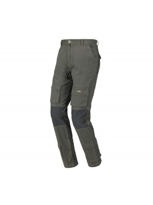 Pantalone STRETCH-ON verde Industrial Starter 8738